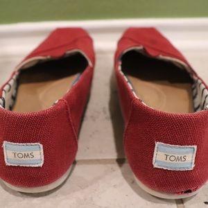 Toms Seasonal Classics Venice red Women's 11